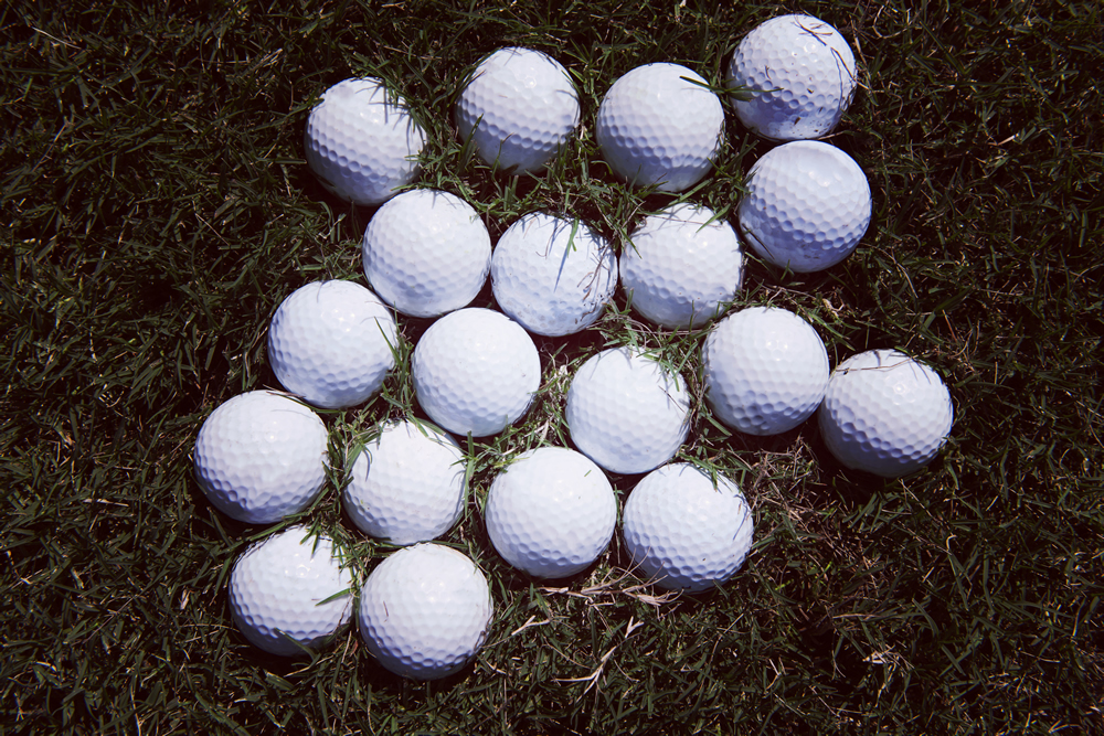 Golf Balls at Range
